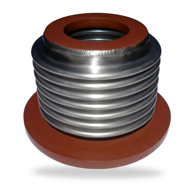 Penetration seal<br/> metal expansion joints