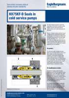 Solution: Mechnical seals HX75KF-D in cold service pumps