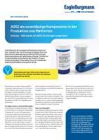 Solution: AGSZ  als zuverlässige Komponente in der Produktion von Metformin